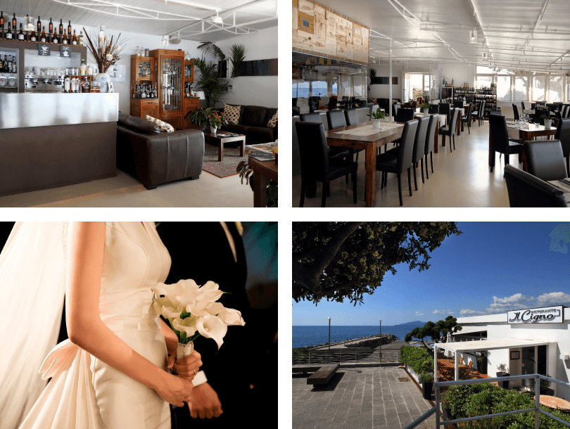 Il Cigno restaurant Lavagna wedding venue eat well seafood Genoa