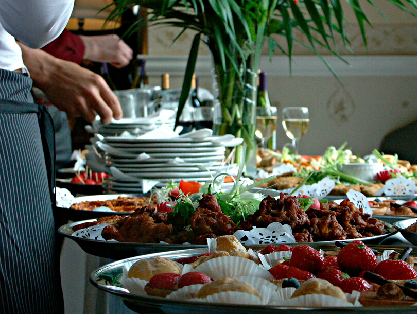 Wedding Catering Delivery Service. Like to be at the Restaurant! The menu